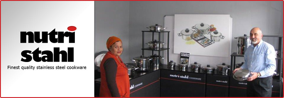 Nutri Stahl Cookware - Manufacturers of South African Cookware Products in Western Cape, Cape Town